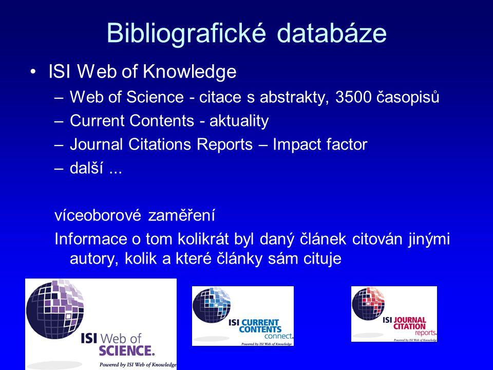 Bibliografické databáze