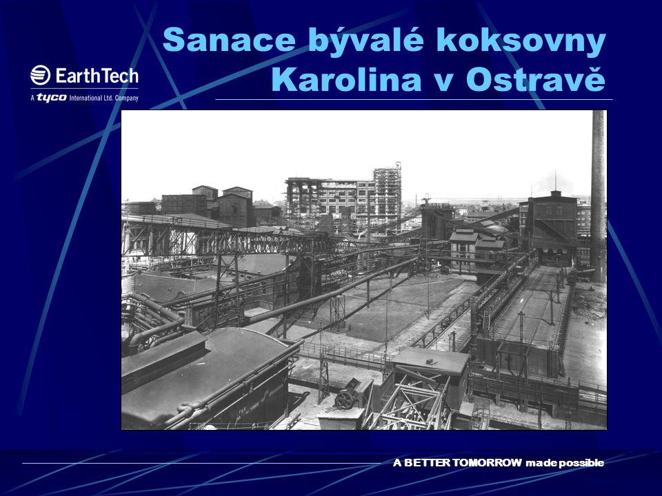Sanace bývalé koksovny Karolina v Ostravě