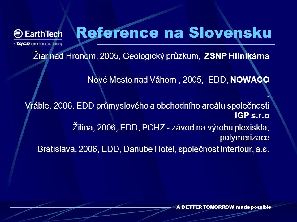 Reference na Slovensku