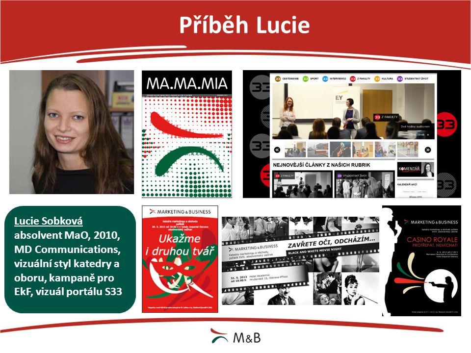 Příběh Lucie Lucie Sobková absolvent MaO, 2010, MD Communications,