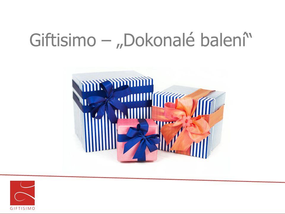 "Giftisimo – ""Dokonalé balení"