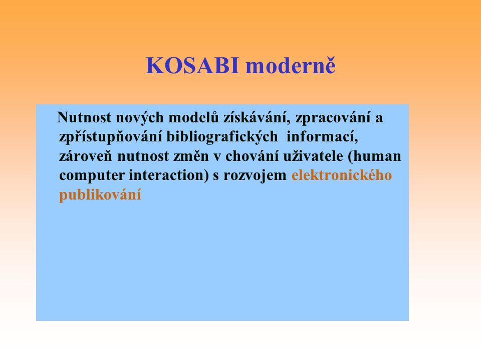 KOSABI moderně