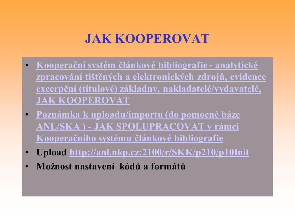 JAK KOOPEROVAT