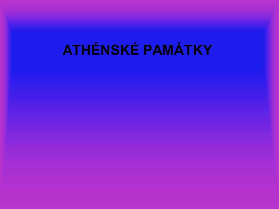 ATHÉNSKÉ PAMÁTKY