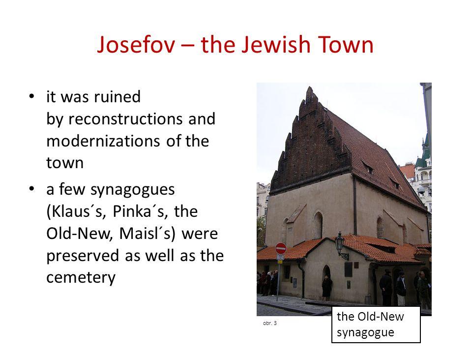 Josefov – the Jewish Town