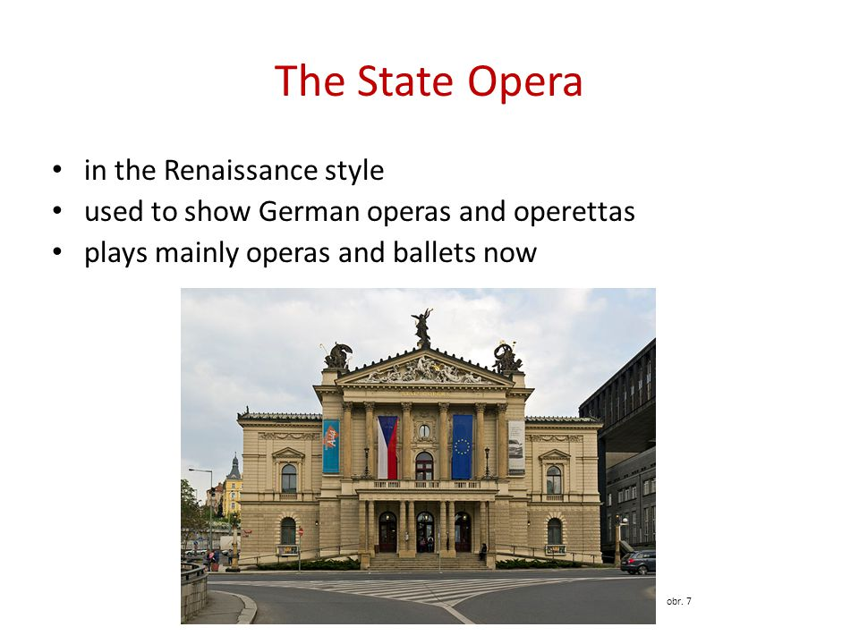 The State Opera in the Renaissance style