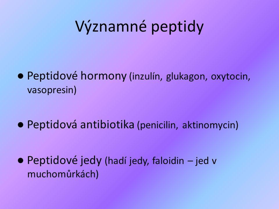 Významné peptidy
