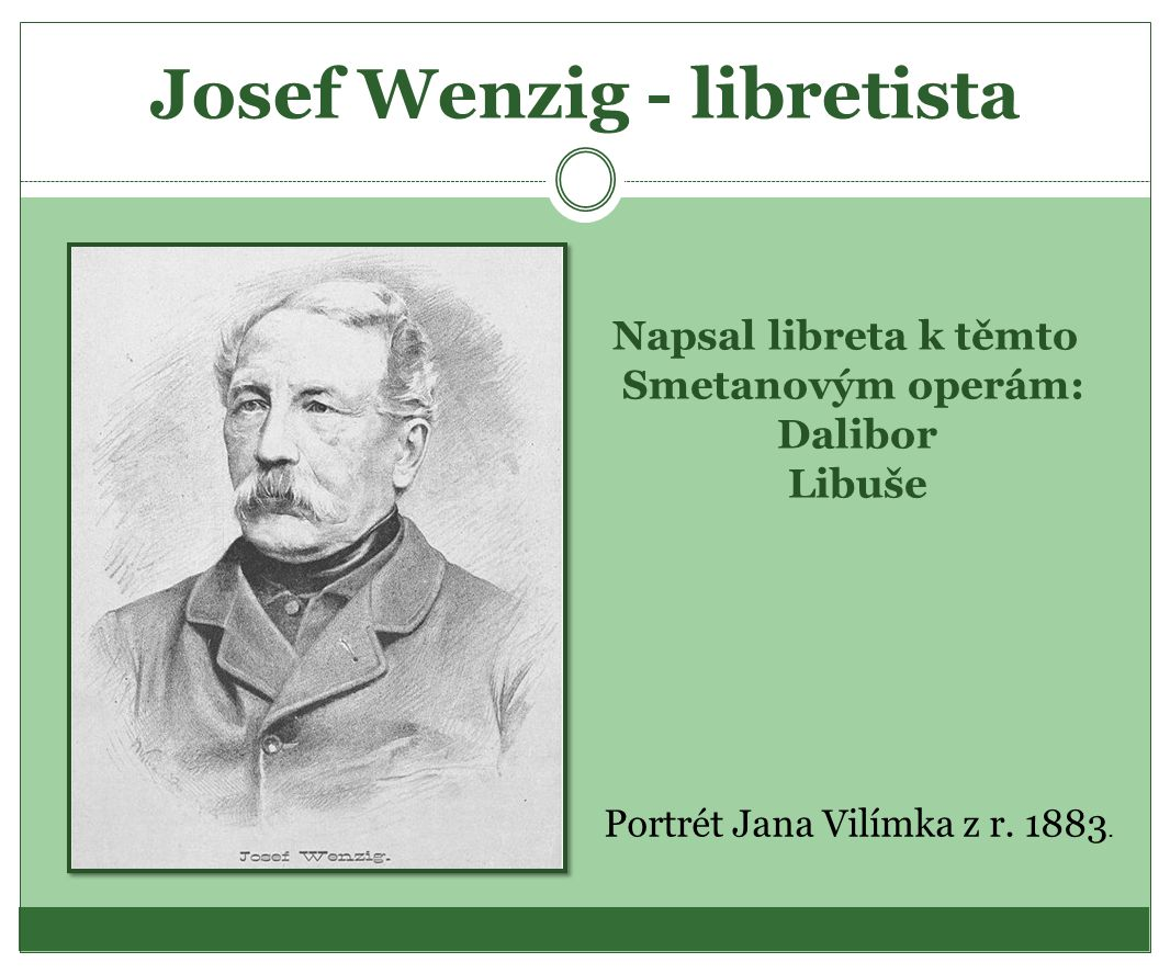 Josef Wenzig - libretista