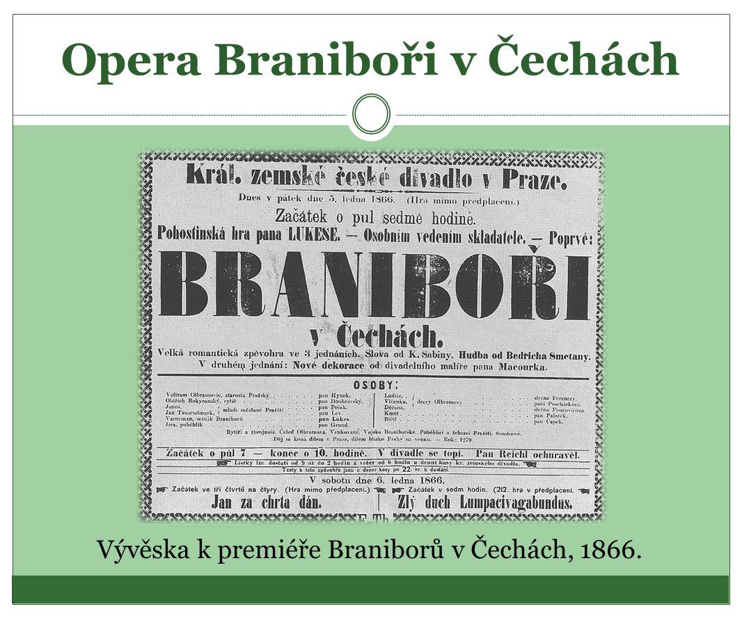 Opera Braniboři v Čechách