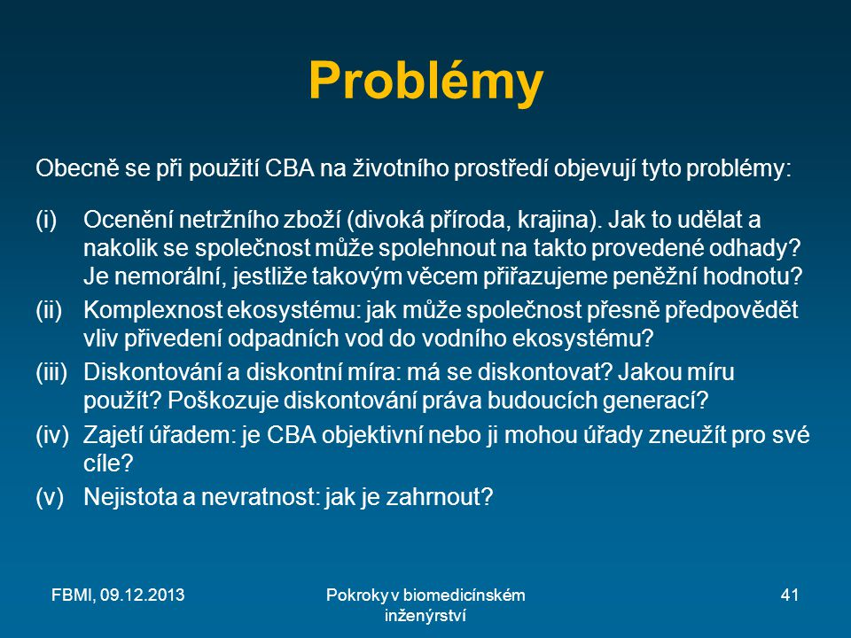 Pokroky v biomedicínském inženýrství