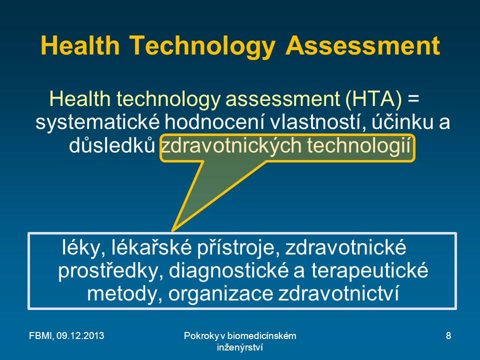 Health Technology Assessment