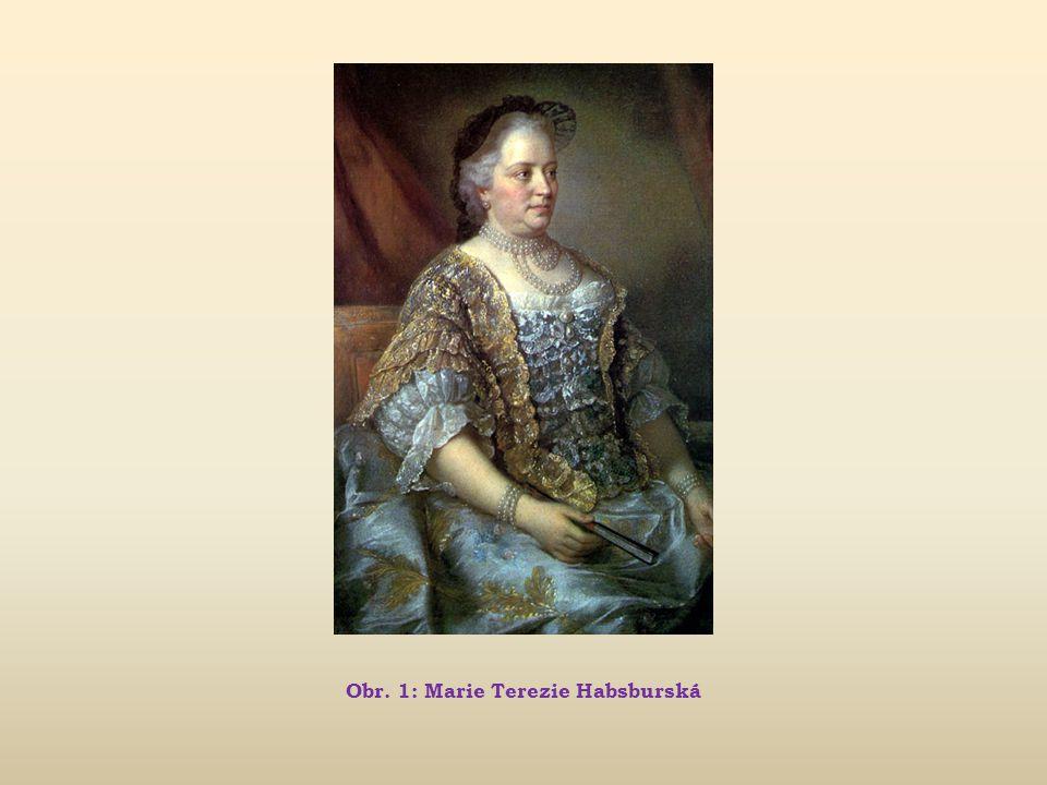 Obr. 1: Marie Terezie Habsburská