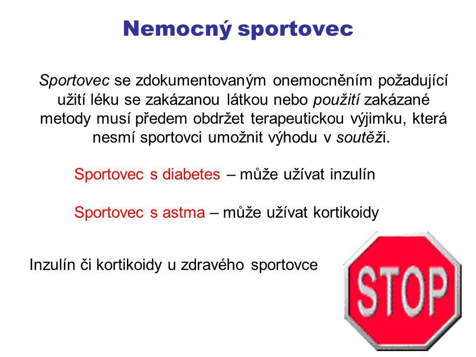 Nemocný sportovec