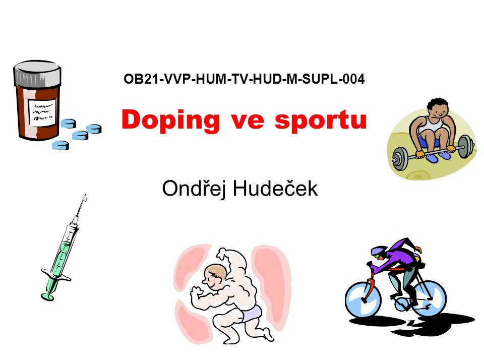 OB21-VVP-HUM-TV-HUD-M-SUPL-004 Doping ve sportu