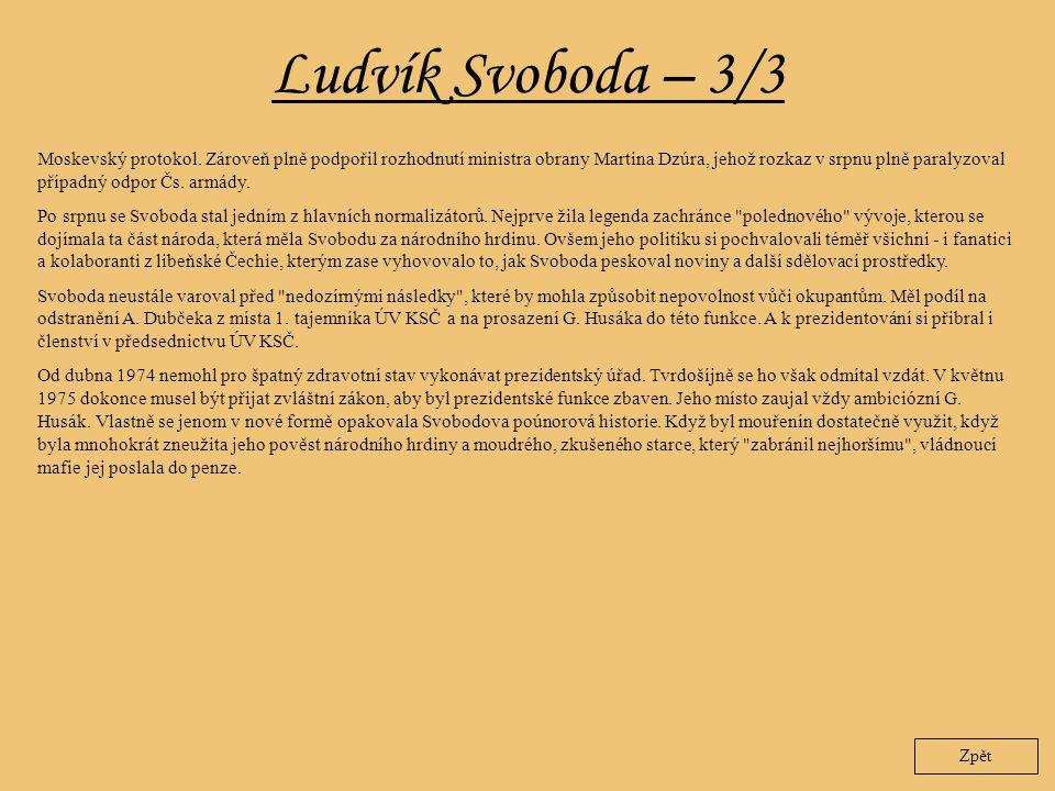 Ludvík Svoboda – 3/3