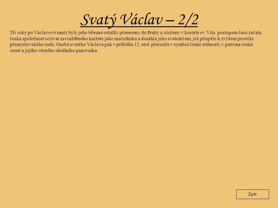 Svatý Václav – 2/2
