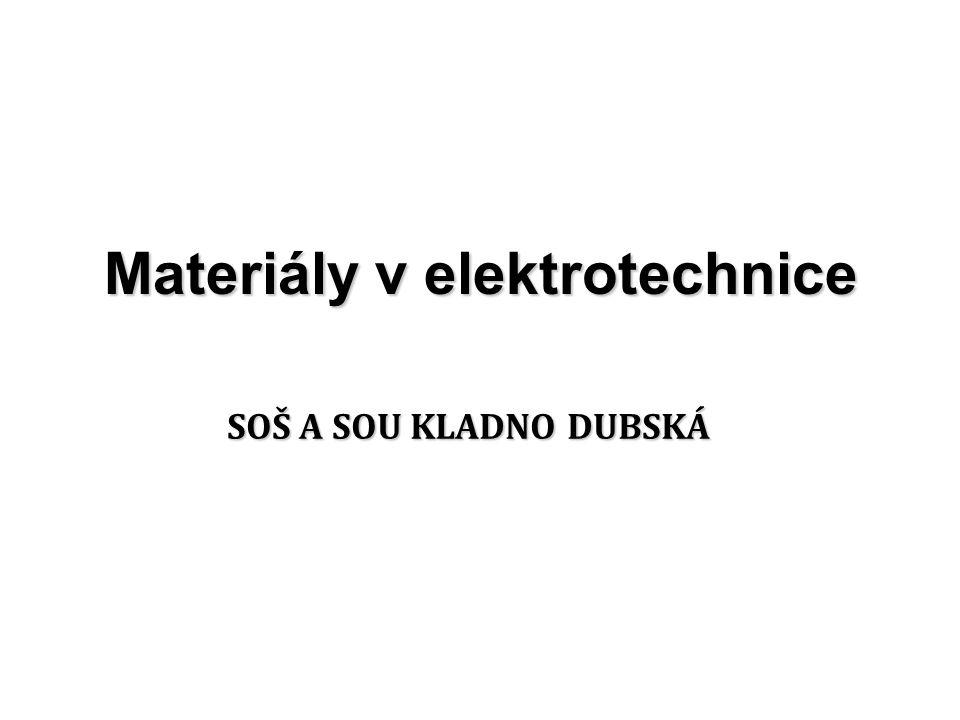 Materiály v elektrotechnice