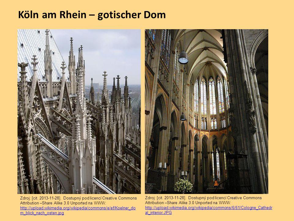 Köln am Rhein – gotischer Dom