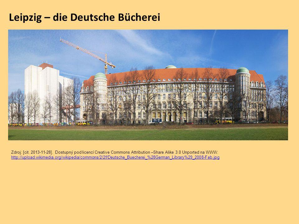 Leipzig – die Deutsche Bücherei