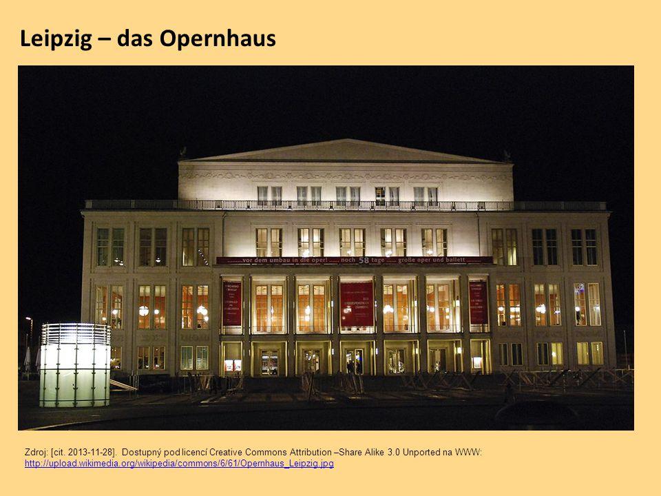 Leipzig – das Opernhaus