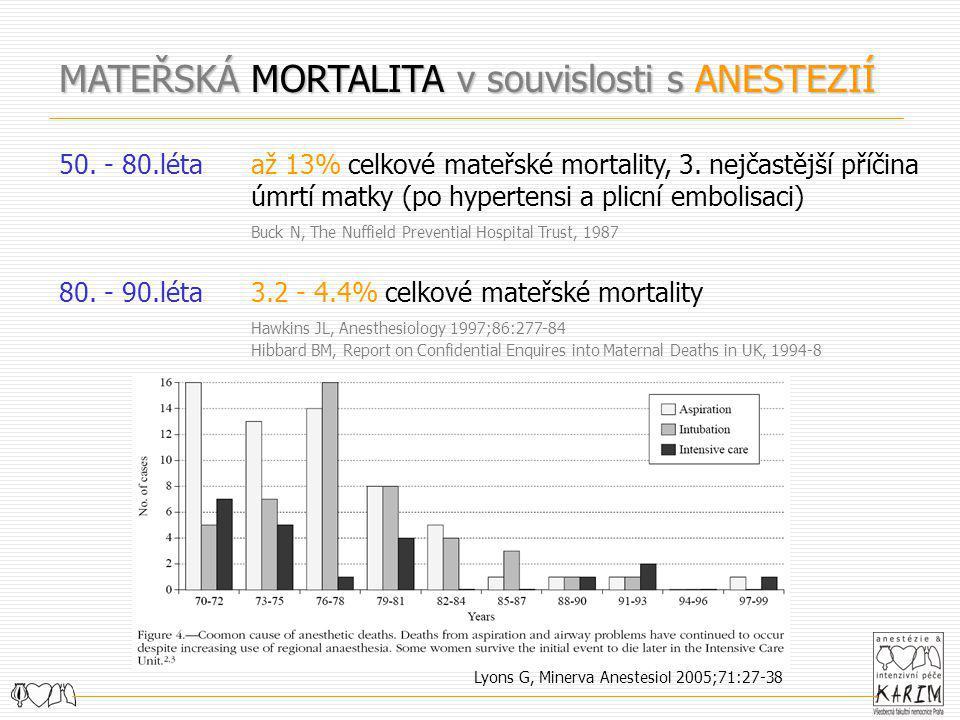 Lyons G, Minerva Anestesiol 2005;71:27-38