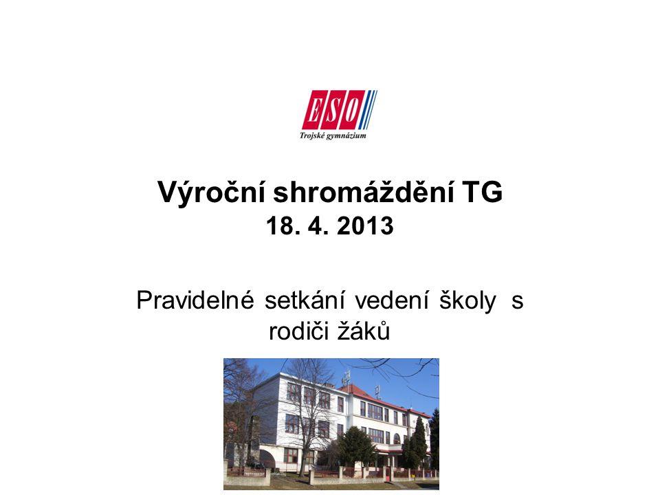 Výroční shromáždění TG 18. 4. 2013