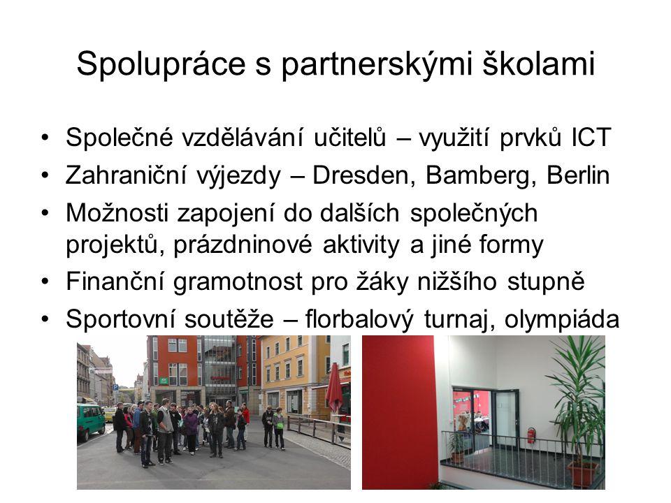 Spolupráce s partnerskými školami