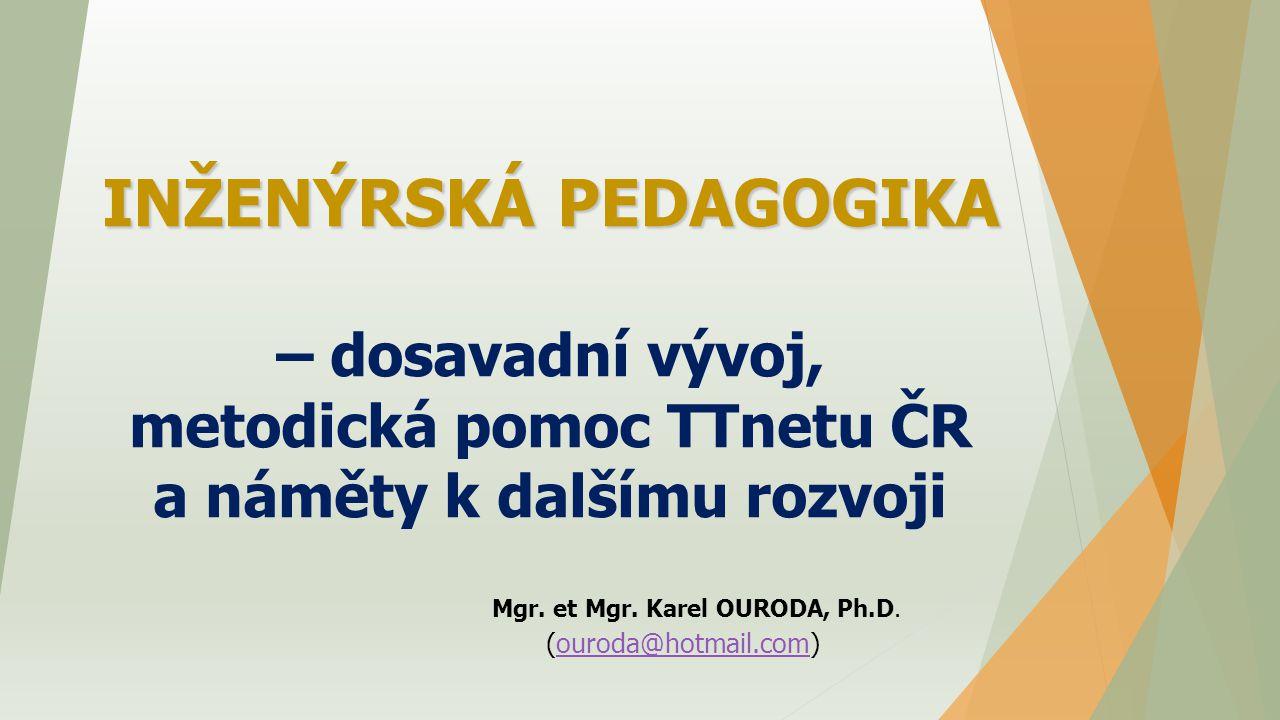 Mgr. et Mgr. Karel OURODA, Ph.D. (ouroda@hotmail.com) .