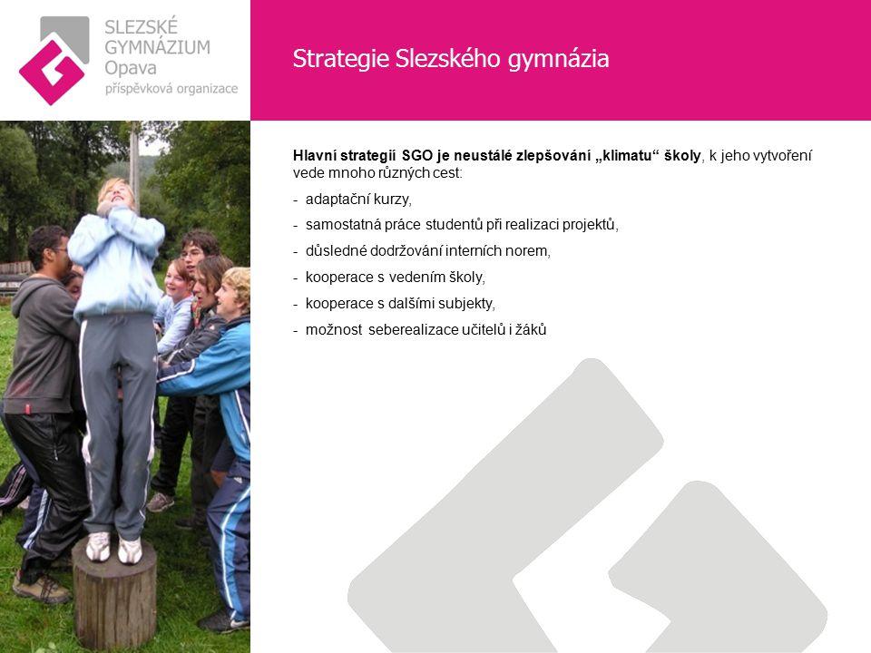 Strategie Slezského gymnázia