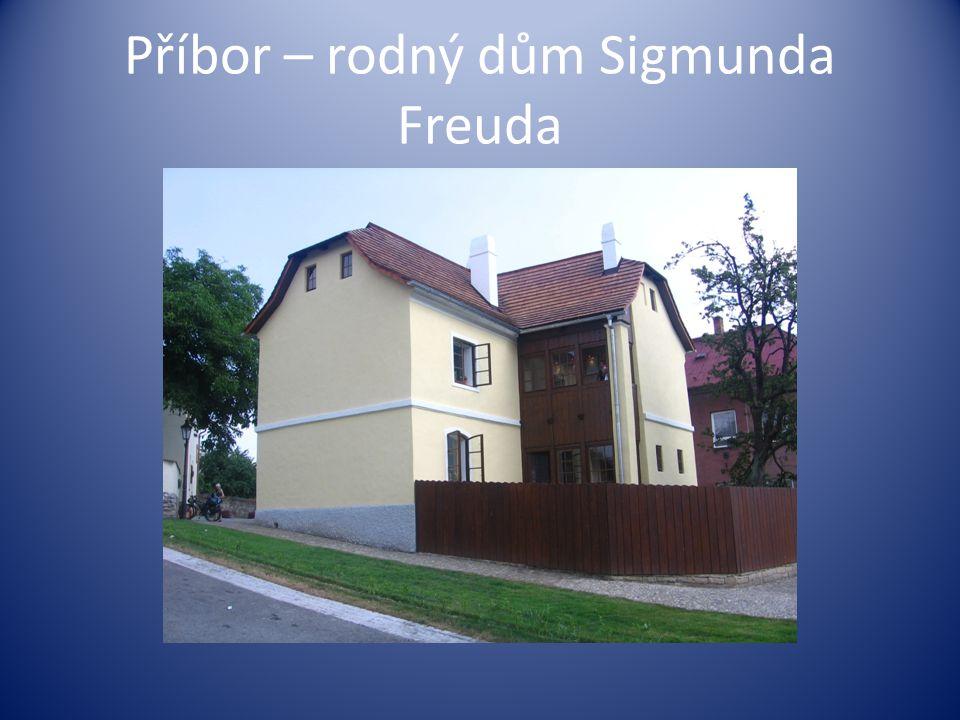 Příbor – rodný dům Sigmunda Freuda