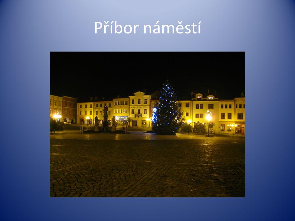 Příbor náměstí
