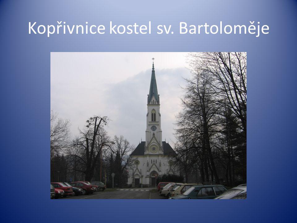 Kopřivnice kostel sv. Bartoloměje