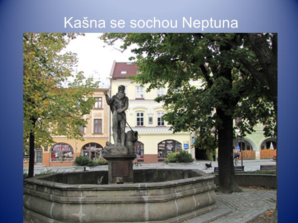 Kašna se sochou Neptuna