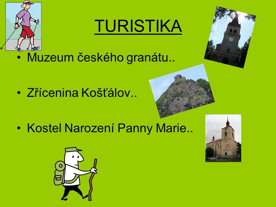 TURISTIKA Muzeum českého granátu.. Zřícenina Košťálov..