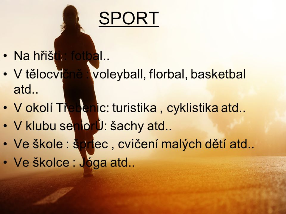SPORT Na hřišti : fotbal..