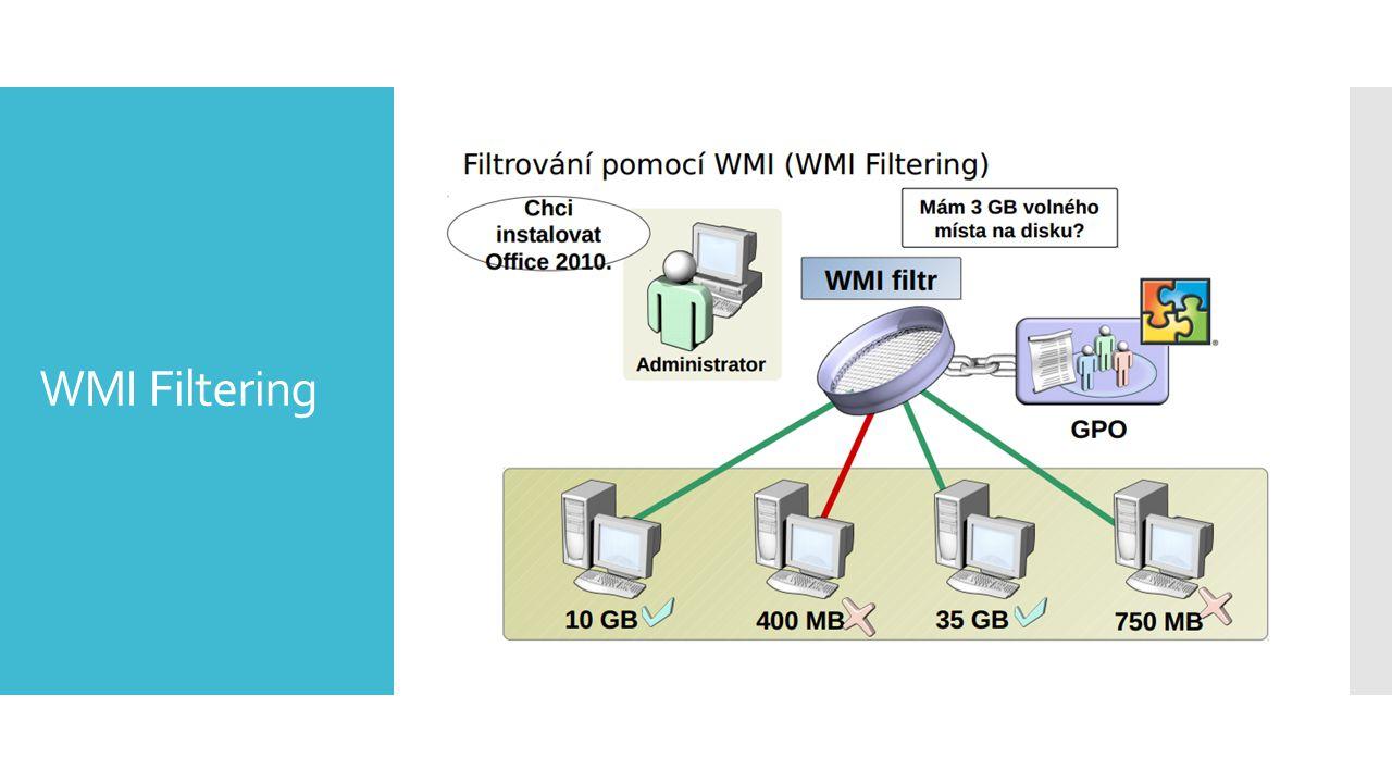 WMI Filtering