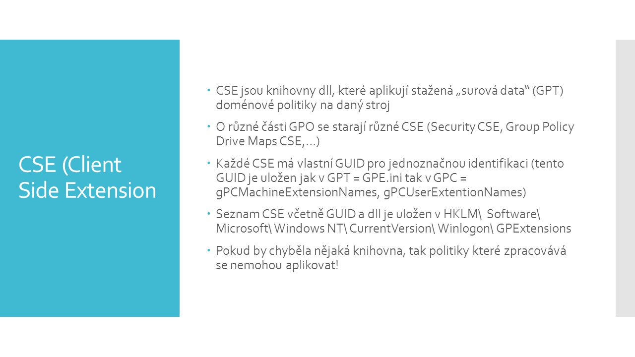 CSE (Client Side Extension