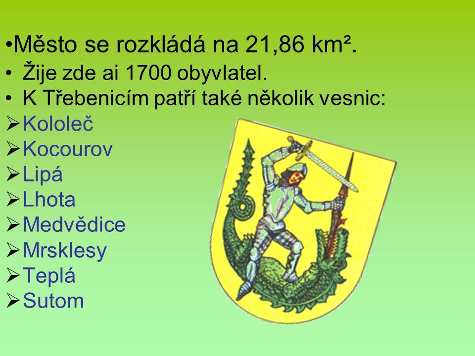 Město se rozkládá na 21,86 km².
