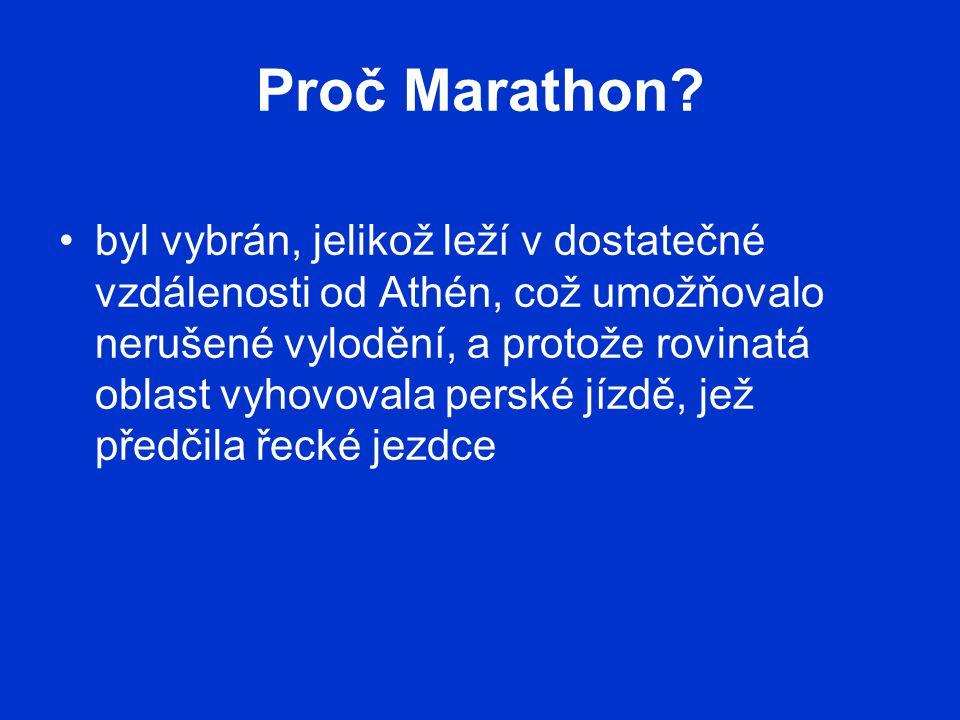 Proč Marathon