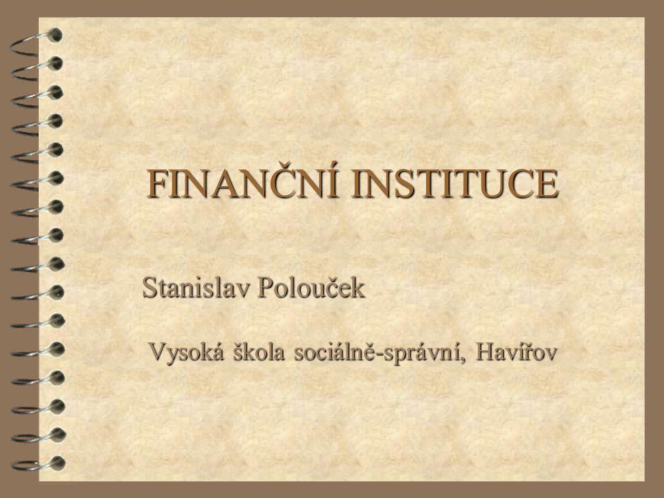 Stanislav Polouček Vysoká škola sociálně-správní, Havířov