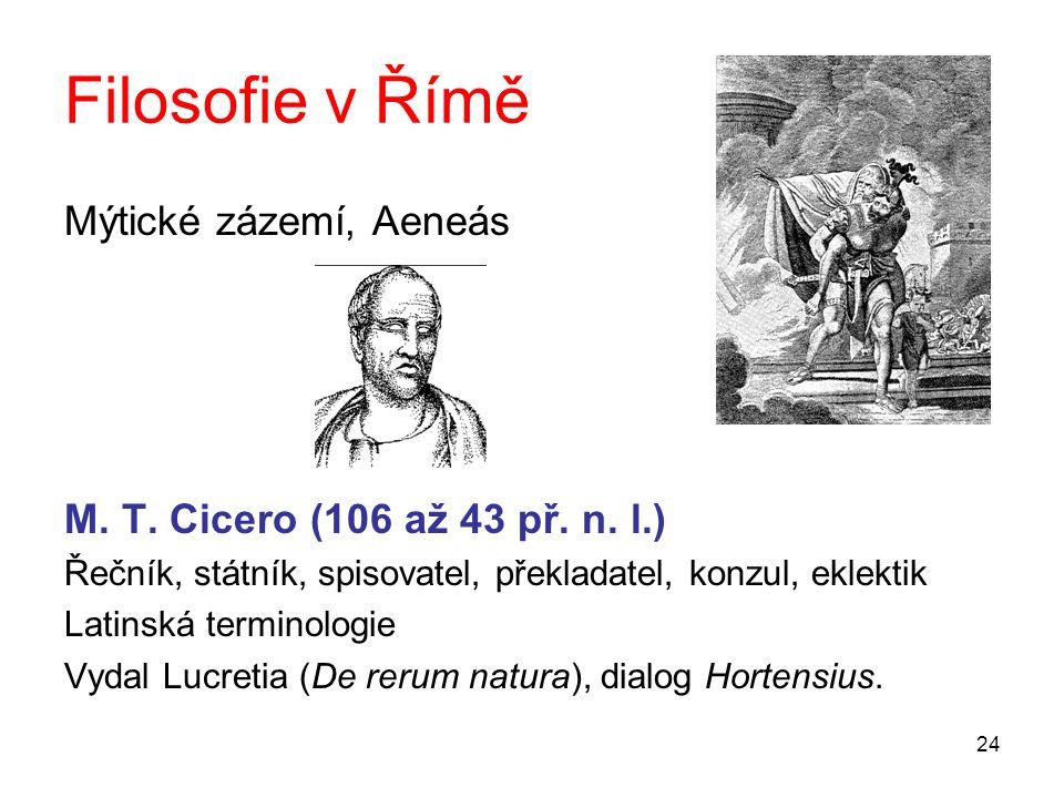 Filosofie v Římě Mýtické zázemí, Aeneás