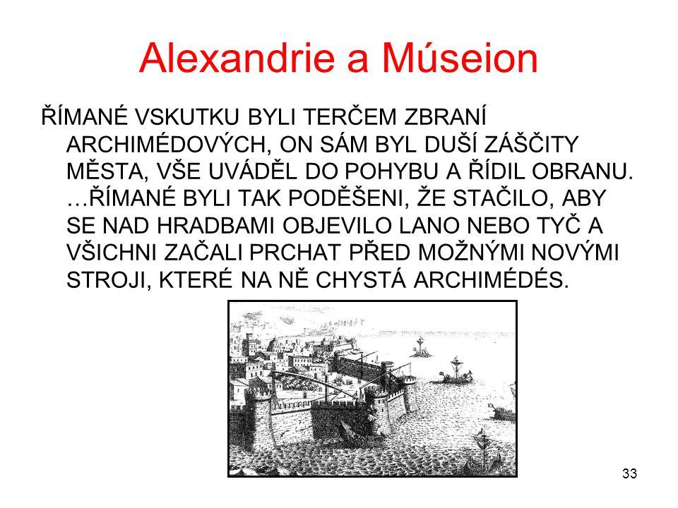 Alexandrie a Múseion