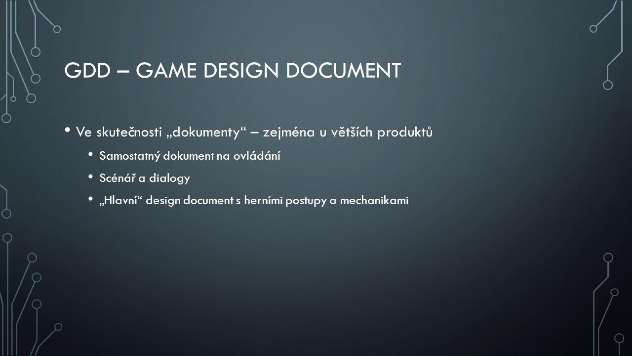 GDD – Game Design Document