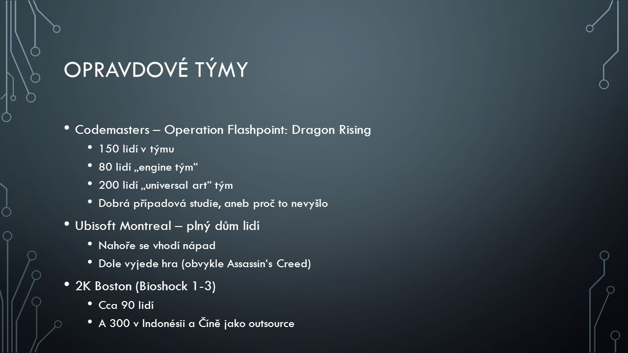 Opravdové týmy Codemasters – Operation Flashpoint: Dragon Rising