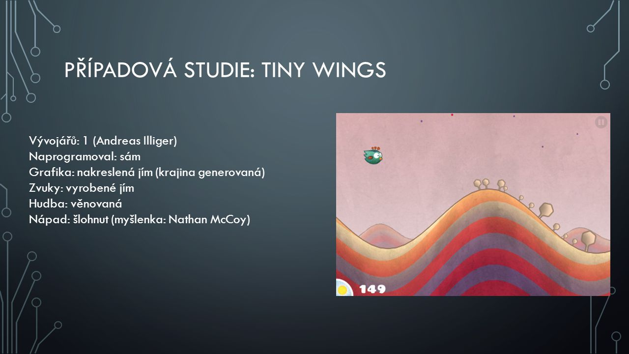 Případová studie: Tiny wings