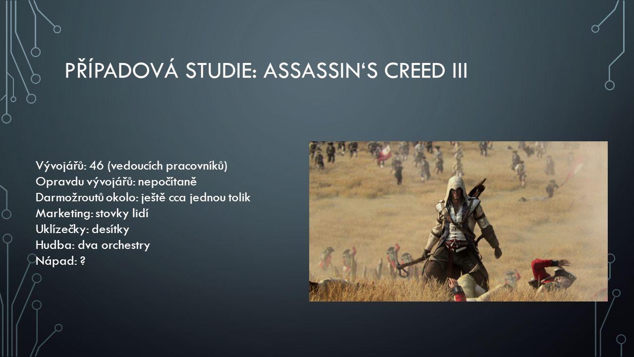 Případová studie: Assassin's Creed III