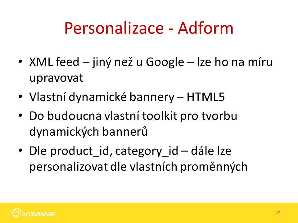 Personalizace - Adform