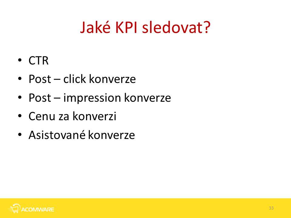 Jaké KPI sledovat CTR Post – click konverze