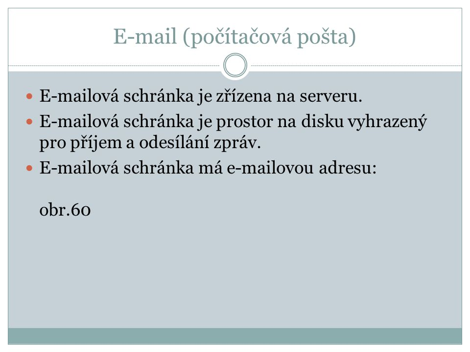 E-mail (počítačová pošta)