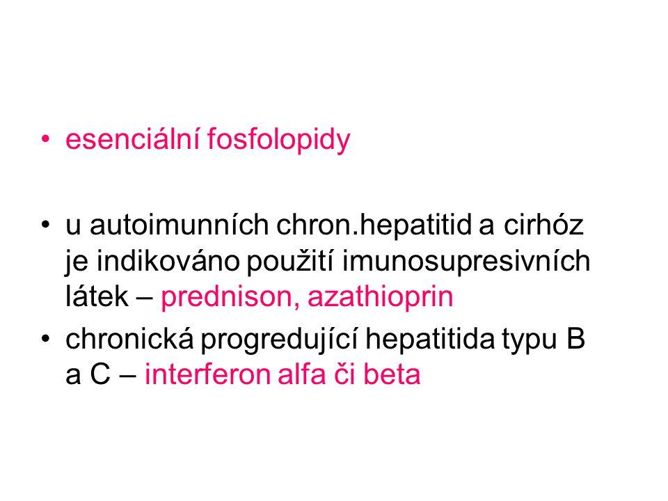 esenciální fosfolopidy